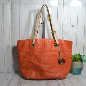 Michael Kors  Jet Set East/West Leather Tote Bag